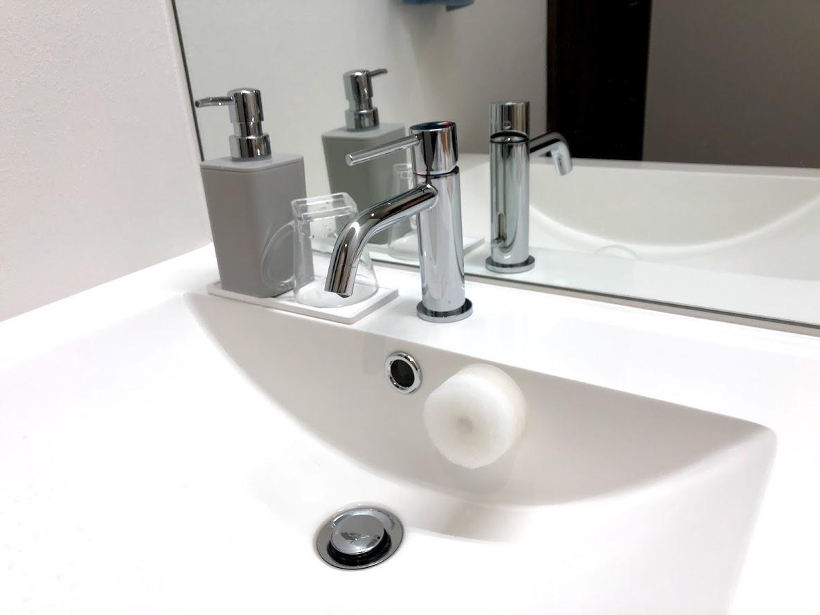 インテリアに馴染む洗面スポンジ